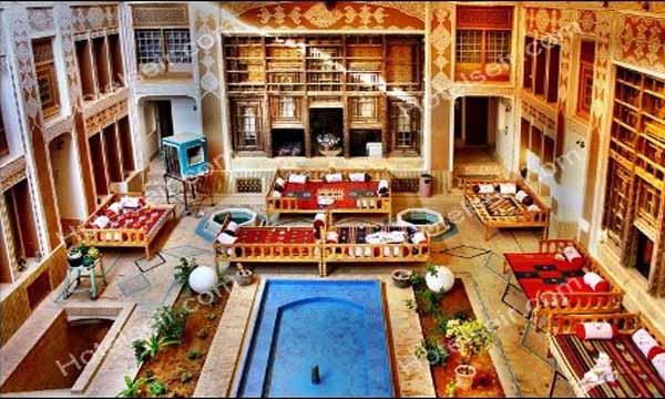 تصویر 1، هتل آنتیک ملک التجار یزد